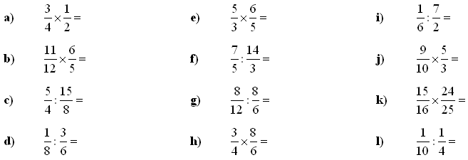 Fractions and decimals - Exercise 2
