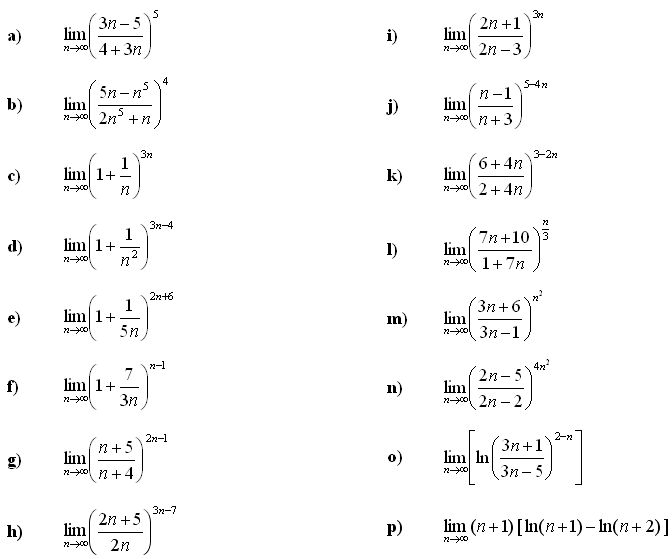 Limit of a sequence - Exercise 2