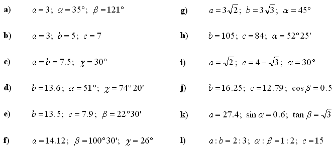 Trigonometry and trigonometric expressions - Exercise 2